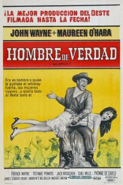 McLintock, Argentine Movie Poster, 1963