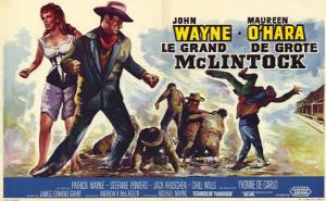 McLintock, Belgian Movie Poster, 1963