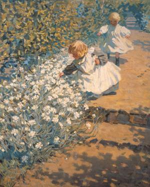 Picking Flowers by McNicoll