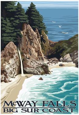 McWay Falls - Big Sur Coast, California