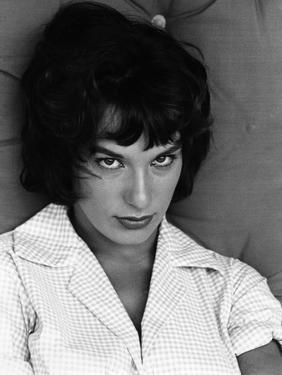 Me faire ca a moi by PierreGrimblat with Bernadette Lafont, 1961 (b/w photo)