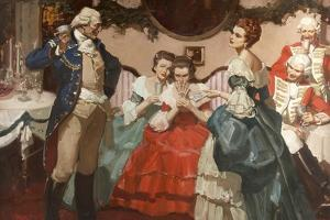 Christmas 1776 by Mead Schaeffer