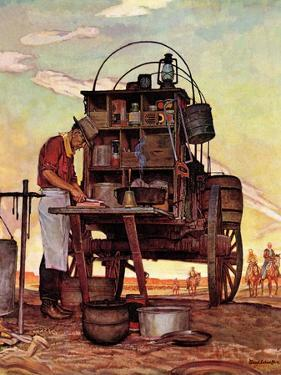 """Chuckwagon,"" September 14, 1946 by Mead Schaeffer"