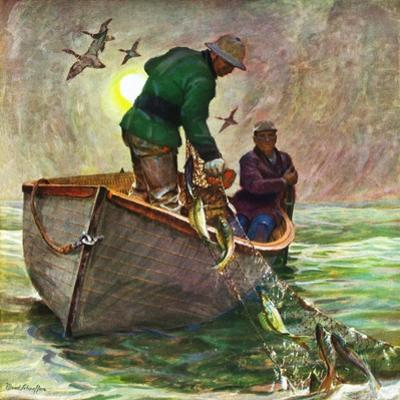 """""""Fishing with Nets,"""" May 28, 1949"""
