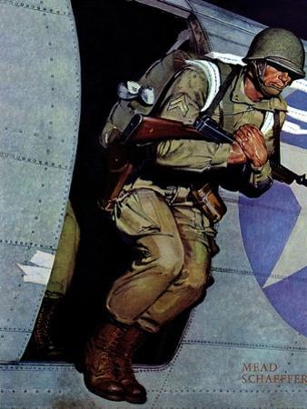 """""""Paratrooper,"""" September 12, 1942"""