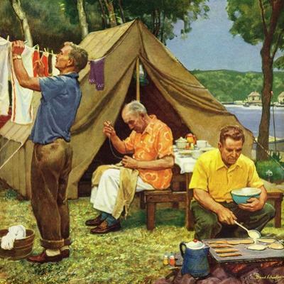 """""""Three Generations Camping"""", May 30, 1953"""