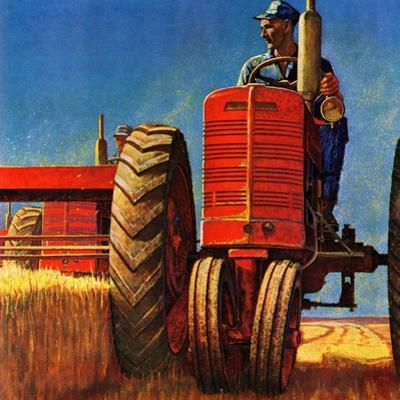 """Wheat Harvest"", August 12, 1950"