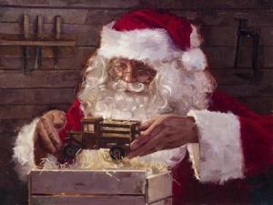 Santa's Workshop by Meadowpaint