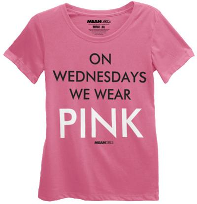 Mean Girls - On Wednesdays We Wear Pink