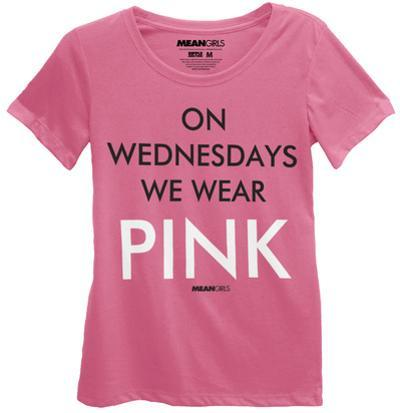 Mean Girls - On Wednesdays We Wear Pink