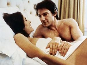 MEAN STREETS, 1973 directed by MARTIN SCORSESE Amy Robinson and Harvey Keitel (photo)