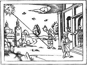 Measuring the Altitude of the Sun, 1539
