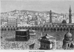 Mecca with Thousands of Pilgrims
