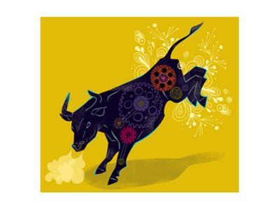 Mechanical Bucking Bull