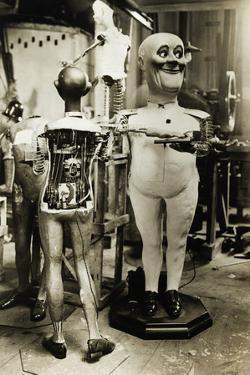 Mechanical Robots Unfinished