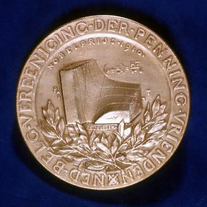 Medal Commemorating Dutch Physicist Johannes Diderik Van Der Waals