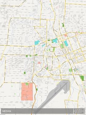 Medan, Indonesia Map