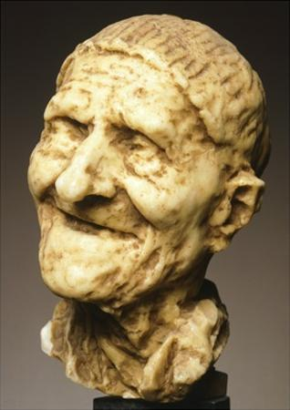 Old Man, 1883 by Medardo Rosso