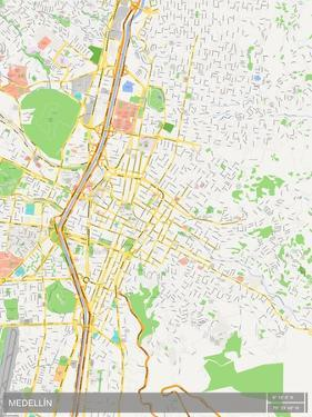Medellin, Colombia Map