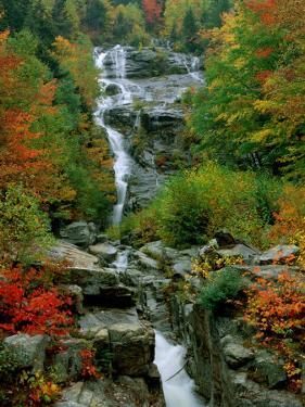 A Stream Runs Swiftly over Rocks by Medford Taylor