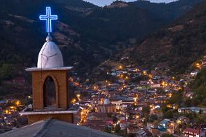 Angangueo, Michoacan, an Old Mining Town in the Heart of the Monarch Butterfly Sanctuaries by Medford Taylor