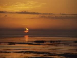 Sunset over Lake Okeechobee by Medford Taylor