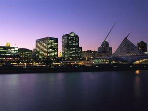 The Milwaukee Skyline at Twilight by Medford Taylor