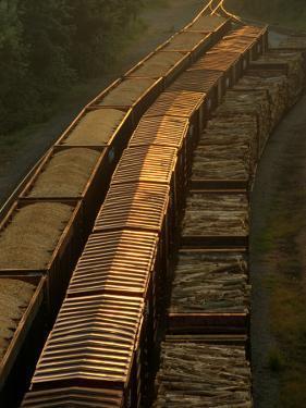 Three Trains Run on Parallel Tracks by Medford Taylor