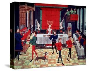 Medieval Banquet for the Queen