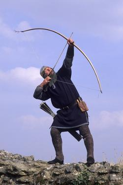 Medieval Bowman, Part of a Historical Re-Enactment
