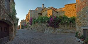 Medieval town of Pals in Costa Brava, Girona, Catalonia, Spain