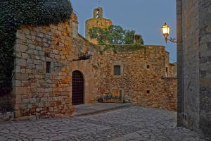 Medieval town of Pals in Costa Brava, Girona Province, Catalonia, Spain
