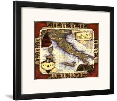 Medium Wine Map I