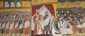 Meeting Between King Solomon and Queen of Sheba, Ethiopia