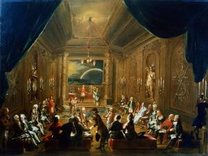 Meeting of the Masonic Lodge, Vienna, 18th Century