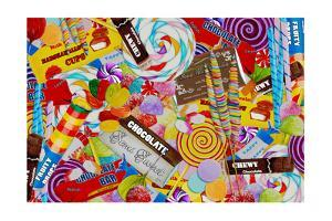 Candy Collage 2 by Megan Aroon Duncanson