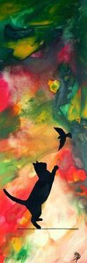 Cats Play by Megan Aroon Duncanson