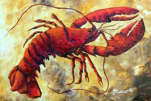 Coastal Luxe Lobster by Megan Aroon Duncanson