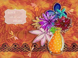 Flower Pot 12 by Megan Aroon Duncanson