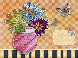 Flower Pot 7 by Megan Aroon Duncanson