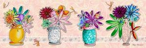 Flower Pot Set 1 by Megan Aroon Duncanson