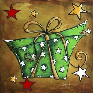 Green Stars Present by Megan Aroon Duncanson