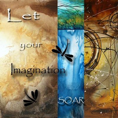 Let Your Imagination Soar by Megan Aroon Duncanson