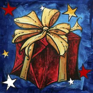 Red Present by Megan Aroon Duncanson