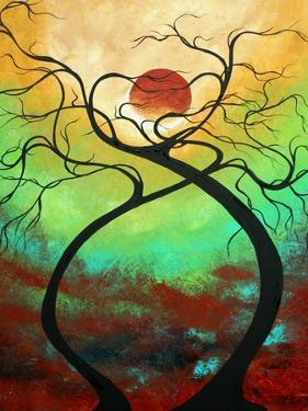 Twisting Love II Abstract by Megan Aroon Duncanson
