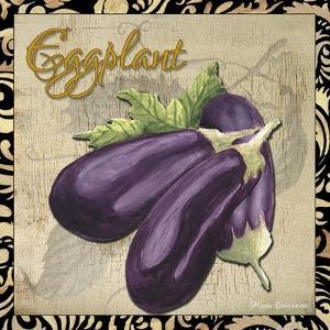 Vegetables 1 Eggplant by Megan Aroon Duncanson