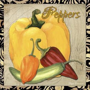 Vegetables 1 Peppers by Megan Aroon Duncanson