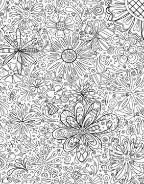 In the Garden 6 by Megan Duncanson