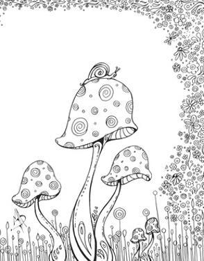 In the Garden 8 by Megan Duncanson