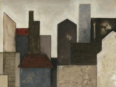 Abstract Metropolis I by Megan Meagher